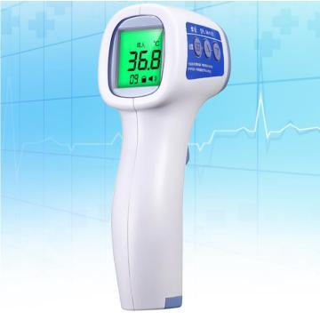 Human infrared forehead body safety thermometer gun medical