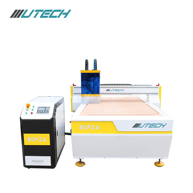 oscillating blade cutting machine for making shoes
