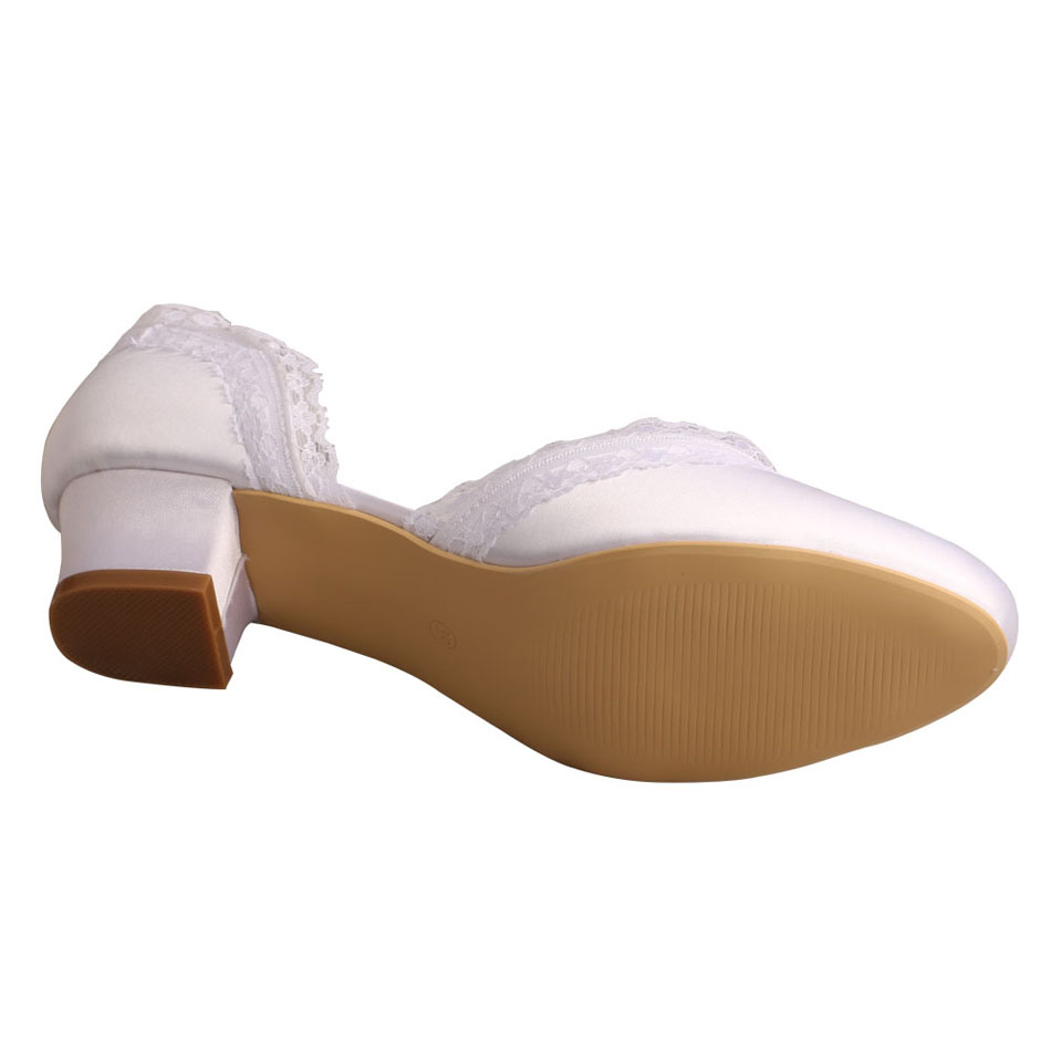 Comfortable Satin Bridal Shoe Stores