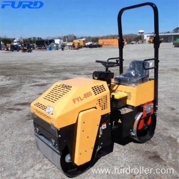 Water Spraying Controlled Road Roller For Asphalt Laying FYL-880