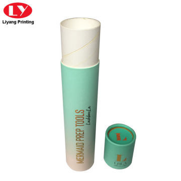 Makeup Brush Packaging Cardboard Box Paper Cylinder Tubes