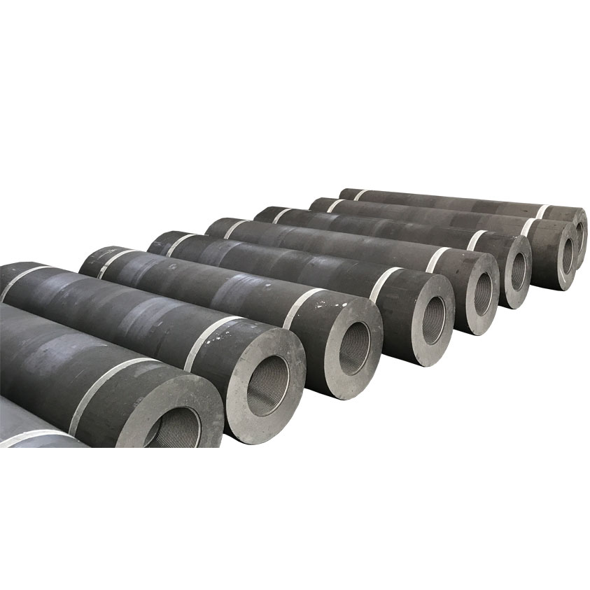 "12"" Length 1800mm UHP 300 Graphite Electrode"