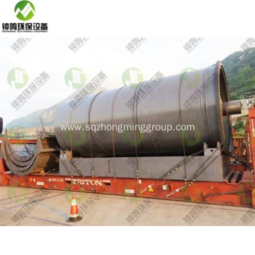 Tire Pyrolysis Diesel Equipment Emissions