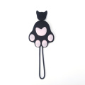 cat paw car key case
