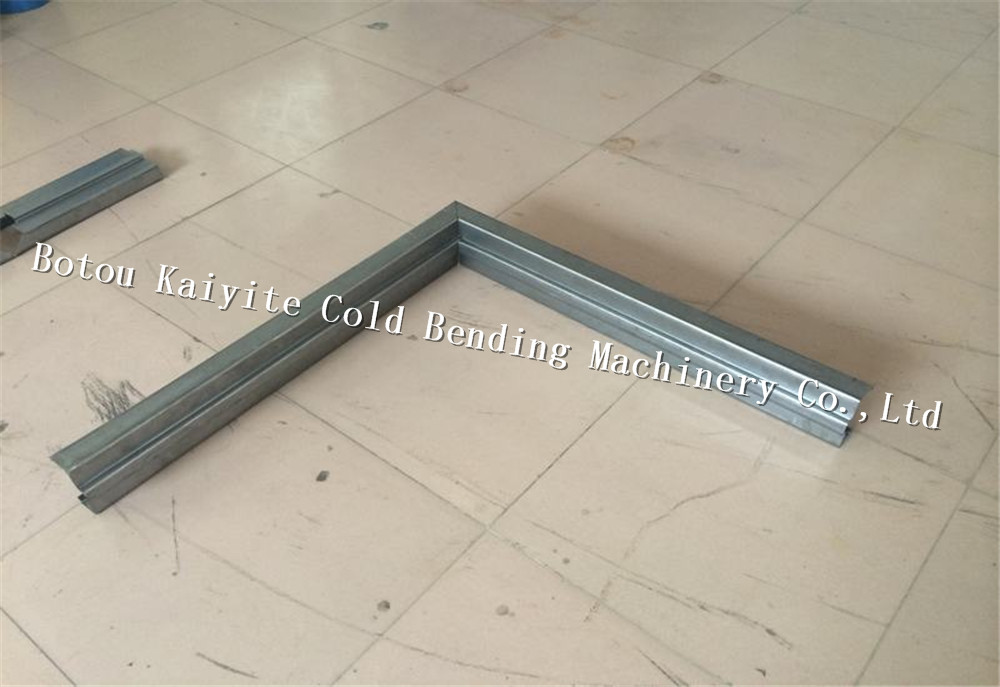 metal door frame machine