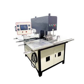 Automatic Embossing Cloth Logo Making Machine