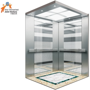 Mirror Etching Passenger Elevator for Building and Home