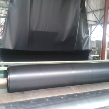 Black Rolling HDPE Geomembrane Liner 2mm