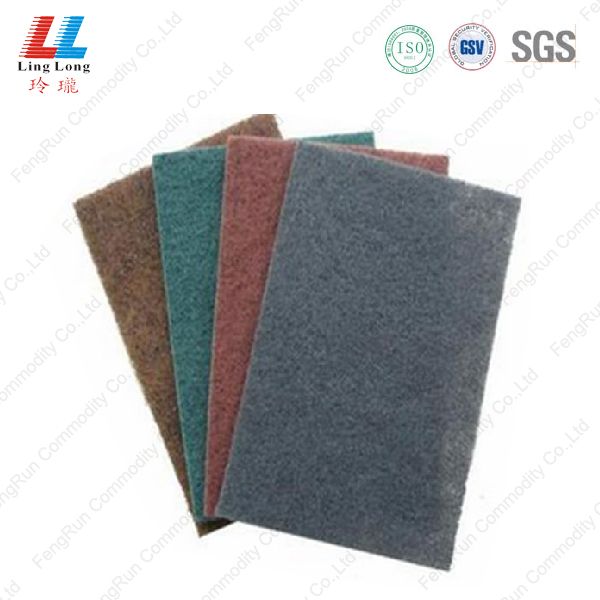 Deep color special scouring pad
