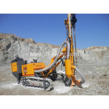 DTH rock blasting drilling rig for ore rocks