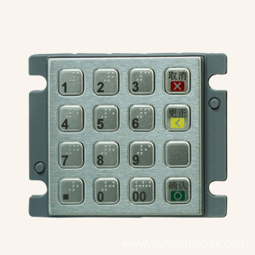 Small Size Encrypted PIN pad