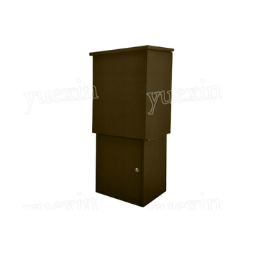 Wall Mounted Metal Apartment Outdoor Parcel Box