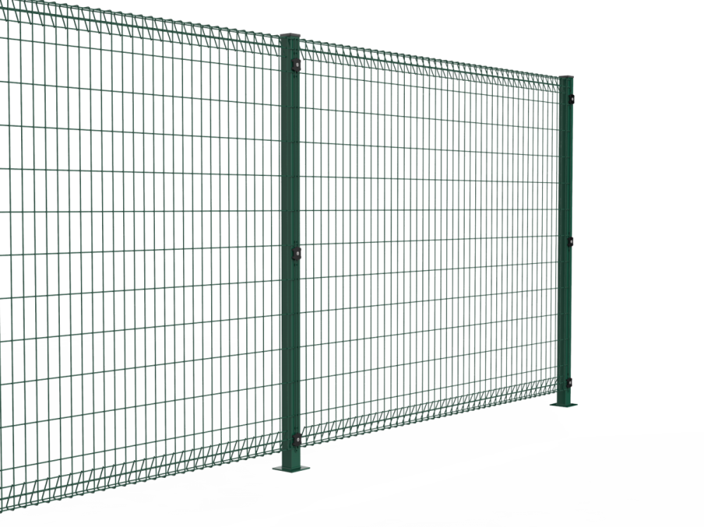 welded Wire Roll Top Fence Panels Brisbane