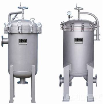 industrial stainless steel security liquid filter housing