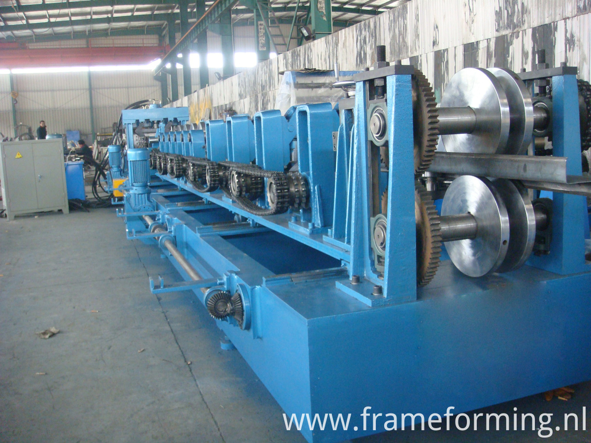 rollers of CZ purlin machine