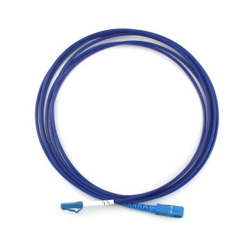 SC to LC OM5 Simplex Armored Patch Cord