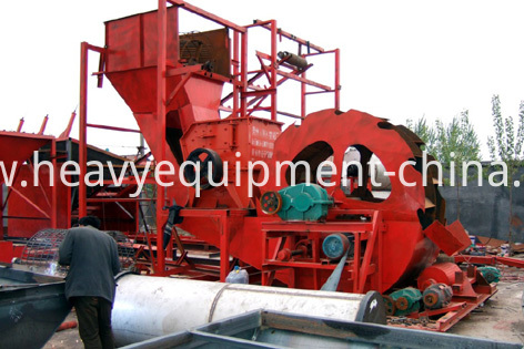 Integrated Stone Washing Plant