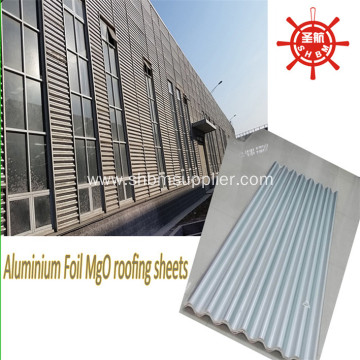 Anti-UV Heat-proof Aluminium Foil Laminated MgO Roof Sheets