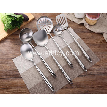 Anti-scalding Stainless Steel Spatula Cooking Kitchen Set