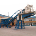 yhzs concrete cement mixer batching plant mobile