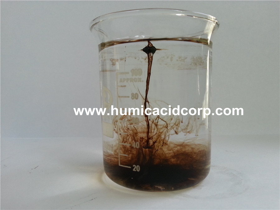 Super potassium humate contains fulvic acid