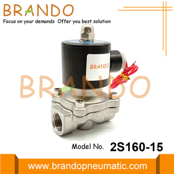 2S160-15 1/2'' 2 way Stainless Steel Solenoid Valve