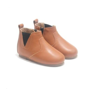 Winter Boots Leather Kids Baby Chelsea Boots