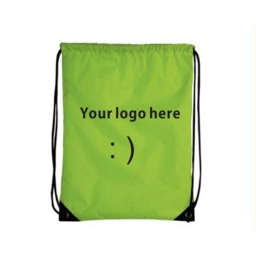 Drawstring backpacks custom with logo