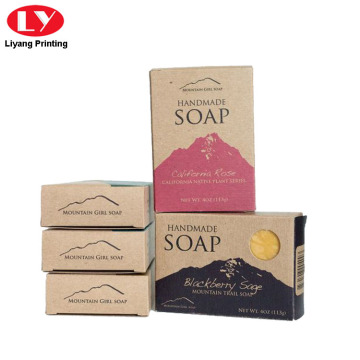 Soap Packaging Kraft Paper Colorful Box