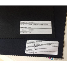 Promotional Wool Nylon Blend Fabric For Winter Cloth