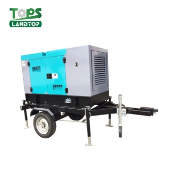 150KVA 120KW Diesel Engine Generator with Trailer