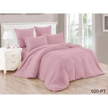 Eco-friendly Bedding Set Polyester Solid Fabric