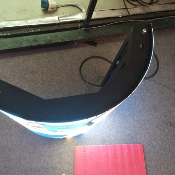 Flexible LED-Innenanzeige