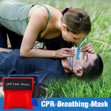 First Aid CPR  Disposable Mask with keychain