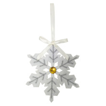 New style white christmas snowflakes ornaments