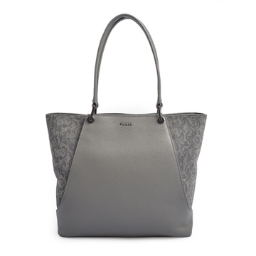 Cabata Leopard-Embossed Leather Tote Bedford leather Bag