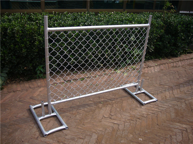 chain link fence temporary fence