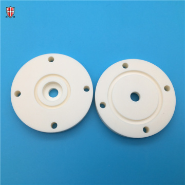 wear resistant pure alumina ceramic plate disc customized