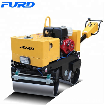 800kg Manual Honda Engine Light Tandem Vibrating Roller FYL-800