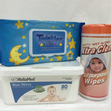 Spunlace Baby Wet Tissue with Different Package