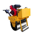 Construction machine 350kg manual road roller factory price