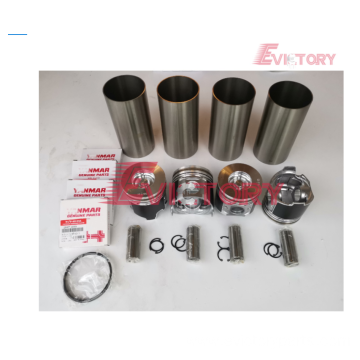 PERKINS spare parts 404D-22T cylinder liner sleeve kit