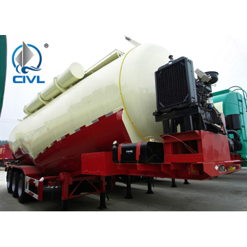 58000L  Bulk Cement Tank Carrier Trailer