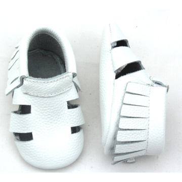 Genuine Leather Soft Sole Fancy Baby Sandals