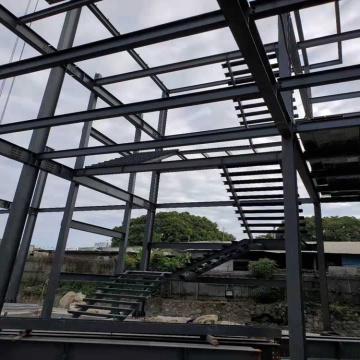 quick build pre-engineered steel frame building
