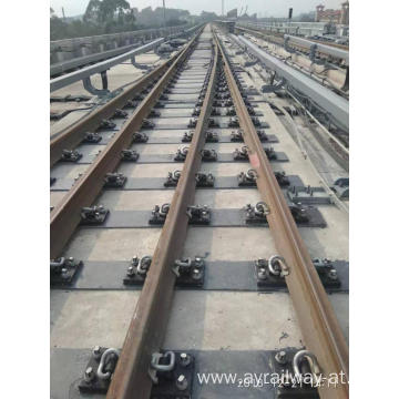 Railway Steel Sleeper Used For Railroad Tracks