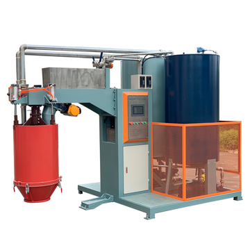 Polyurethane foam production line