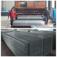 superior quality 3D bending fencing galvanized fence