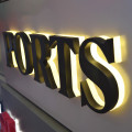 Custom Outside Led Signs Exterior Signage