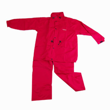 Red Outdoor Waterproof Coat